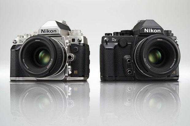 die Df ist in schwarz und silber erhältlich (Foto: Nikon)