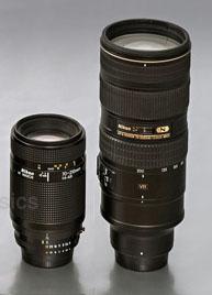 AF 70-210/4-5,6 vs. AF-S VR 70-200/2,8