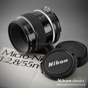 Klassiker: Micro-Nikkor 55/2,8 AIS