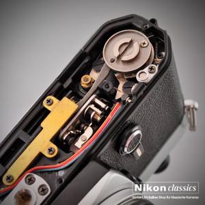Innenleben einer Nikon FE