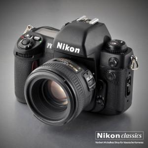 Nikon F100, anno 1999