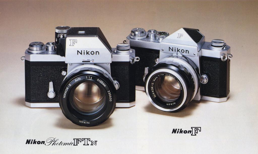 "Nikon F als ""Photomic FTN"" und ""Eyelevel"""