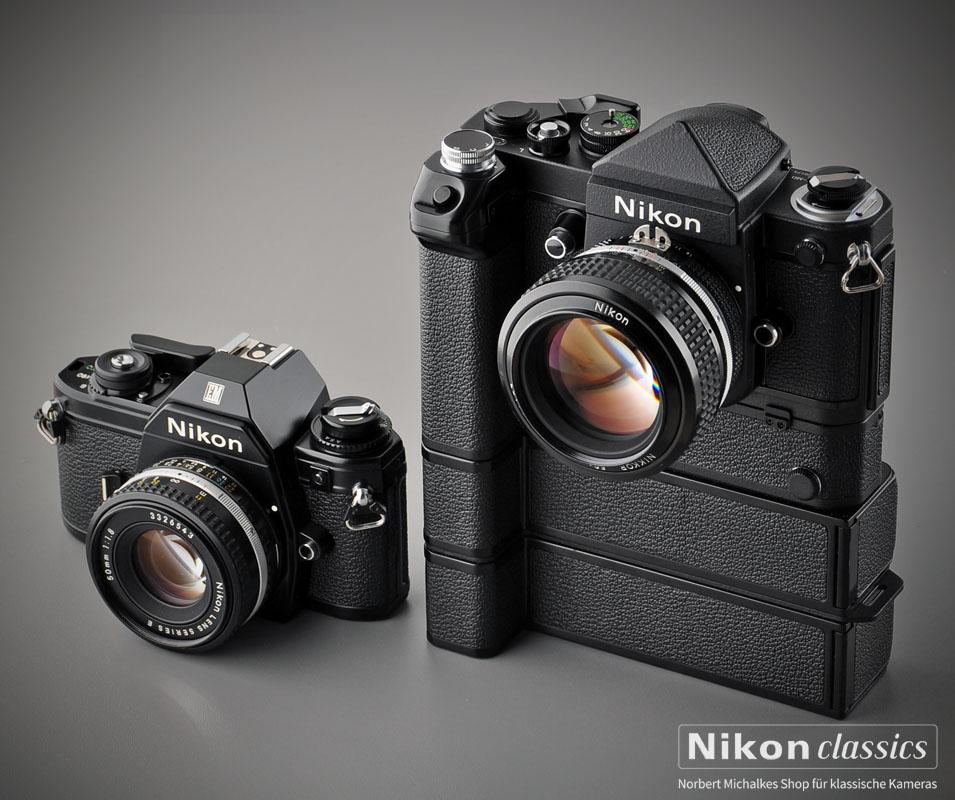 ungleiche Schwestern: Nikon EM, F2S