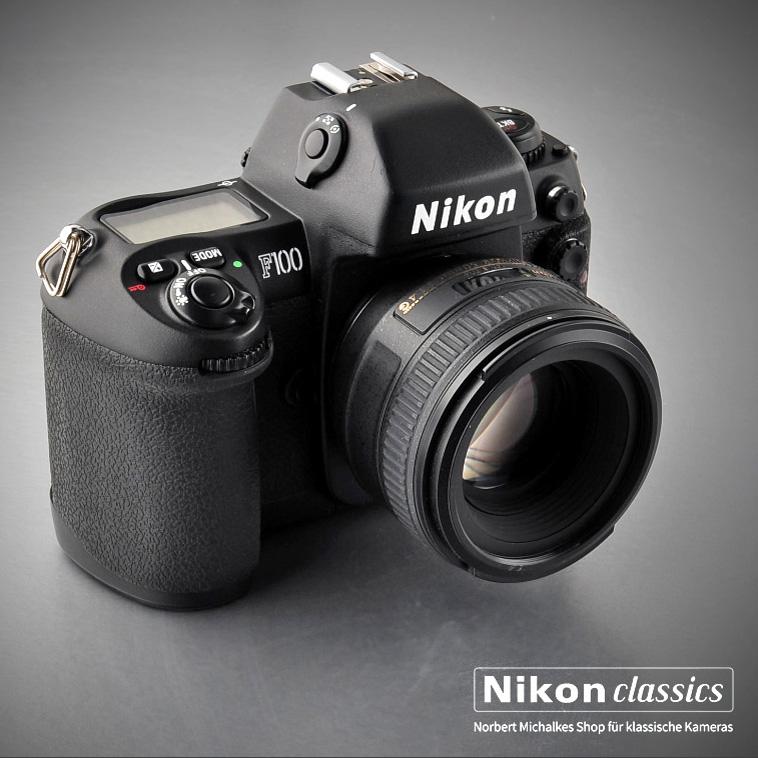 Nikon F100 mit AF-S-Nikkor 50/1,4G