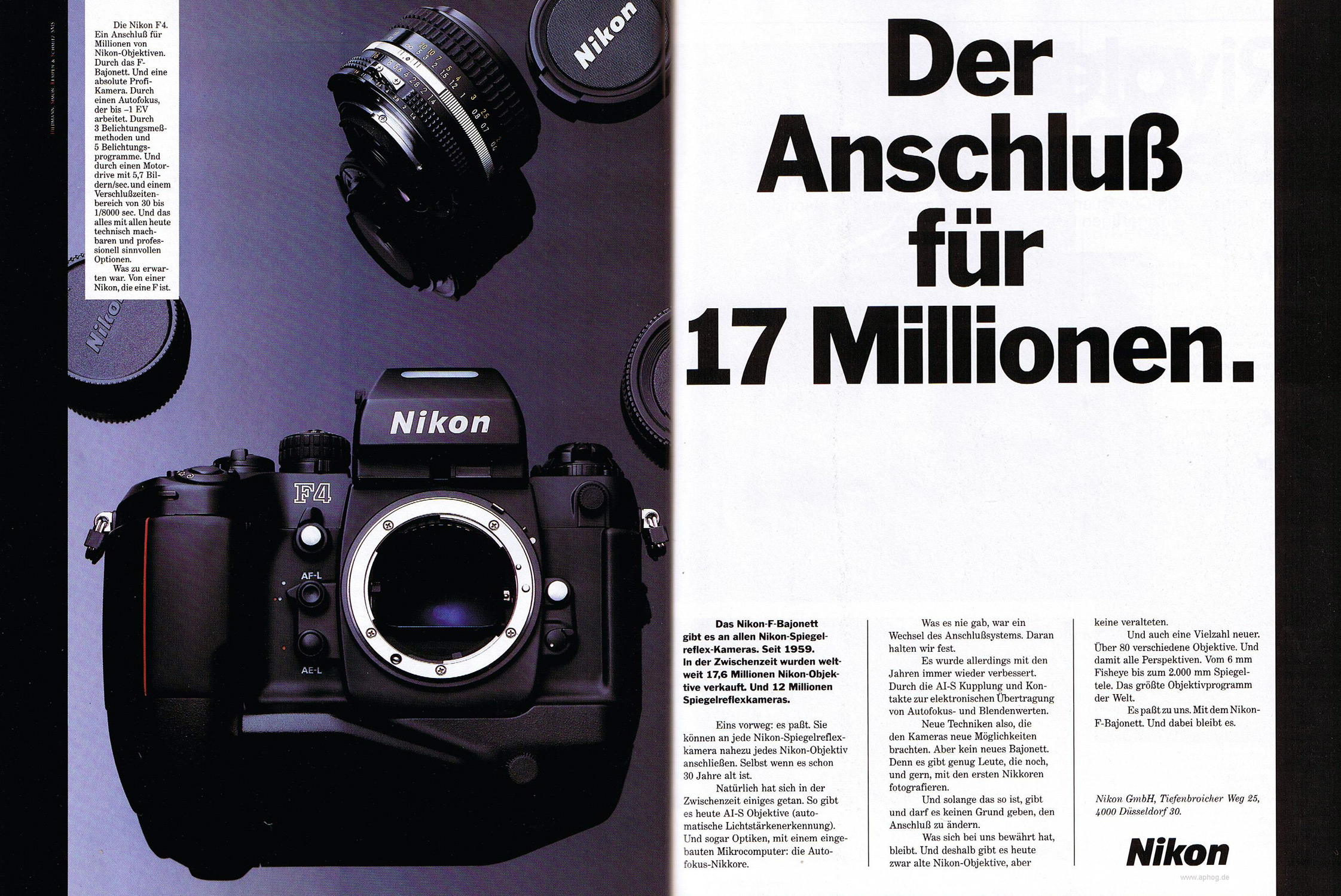 alte objektive auf digitalkamera