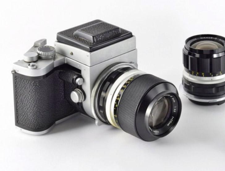 Die 6x7-Nikon. Wurde aber leider nie in Serie gebaut.