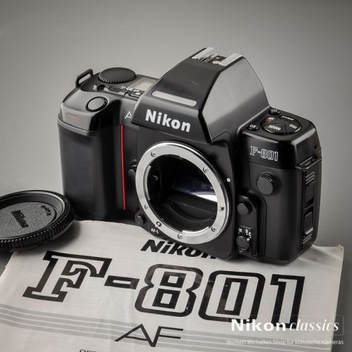 Nikon F801 AF with MF-21 (Condition A/A-)