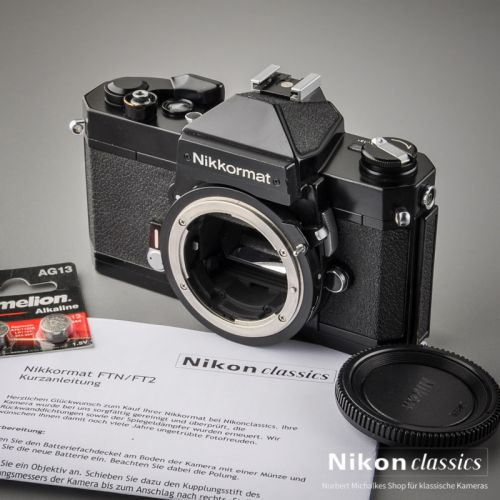 Nikkormat FT2 black (Condition AB)