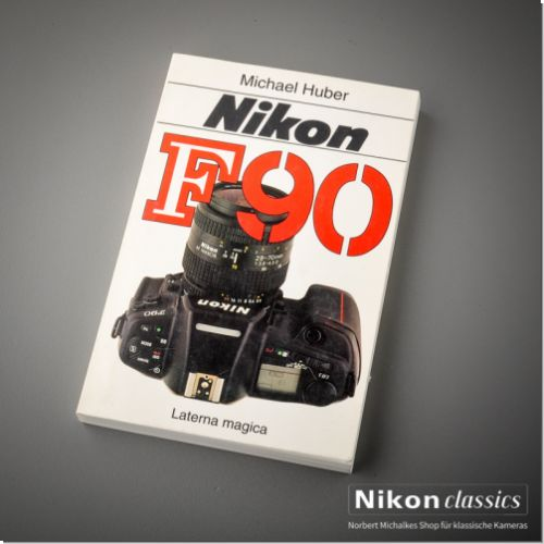 Nikon F90, german book