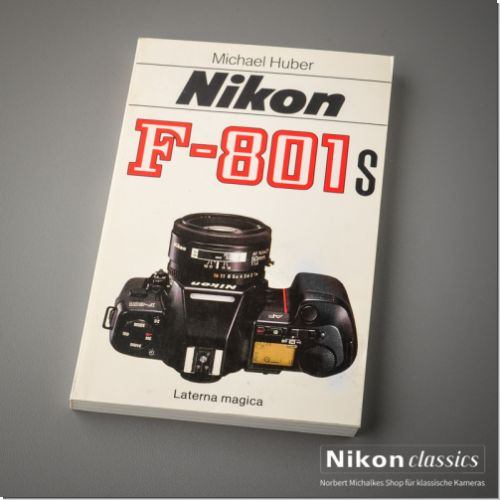 Nikon F801s, german book