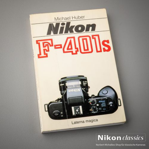 Nikon F401s, german book - Kopie
