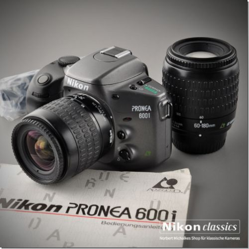 Nikon Pronea 600i with 24-70mm and 60-180mm IX-Nikkor
