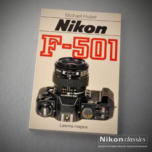 Nikon F501, german book