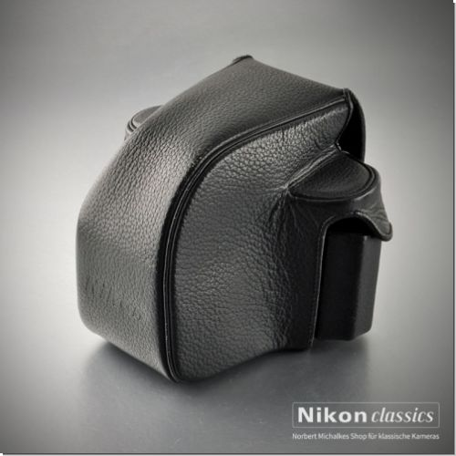 Hard Leather Case for Nikon F2 with action finder