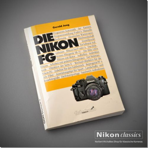 Nikon FG, german book