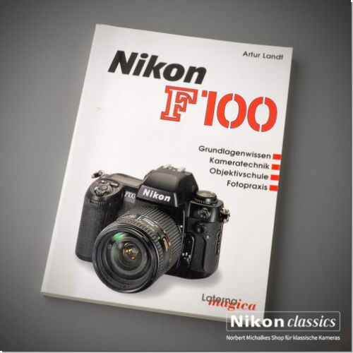 Nikon F100, german book