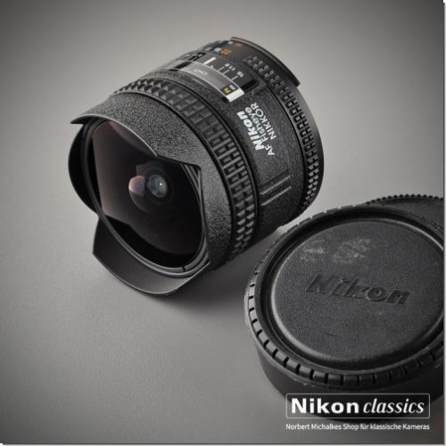 Nikon AF-D Nikkor 16/2,8 fisheye (Condition A)