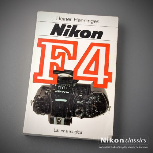 Nikon F4, german book
