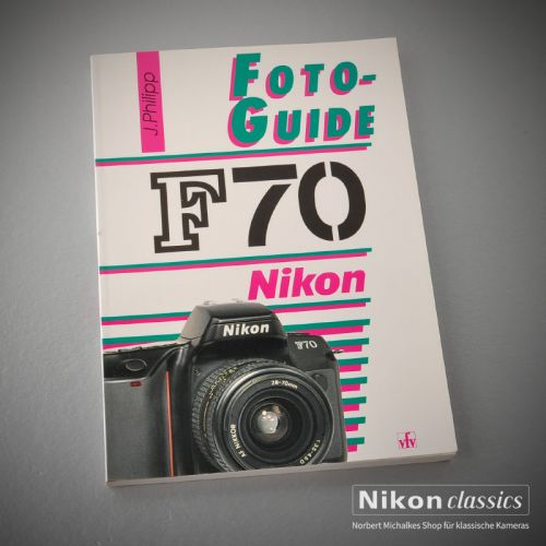 Nikon F70, german book