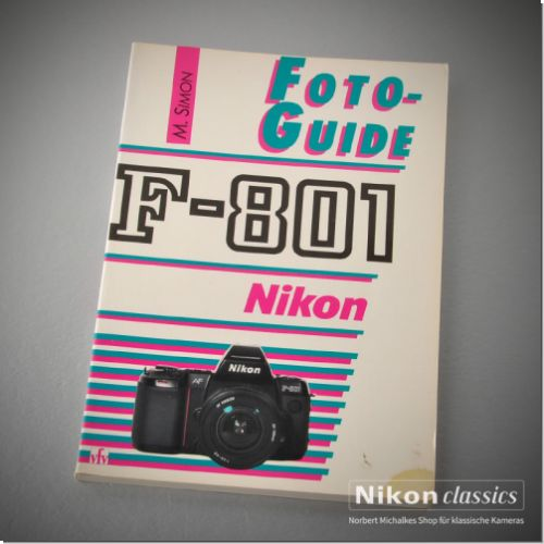 Nikon F801, german book