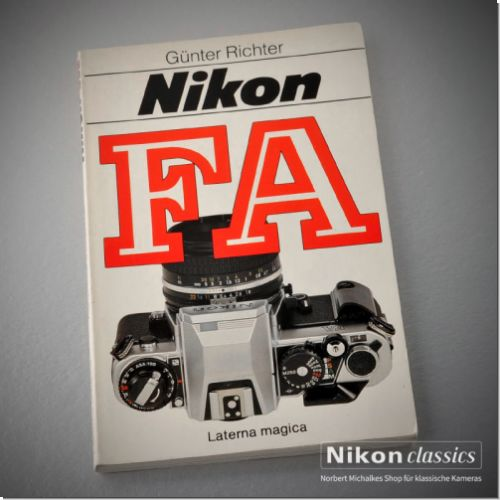 Nikon FA, german book