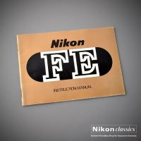 Nikon FE, Original Manual, englisch