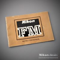 Nikon FM, Original Manual, englisch